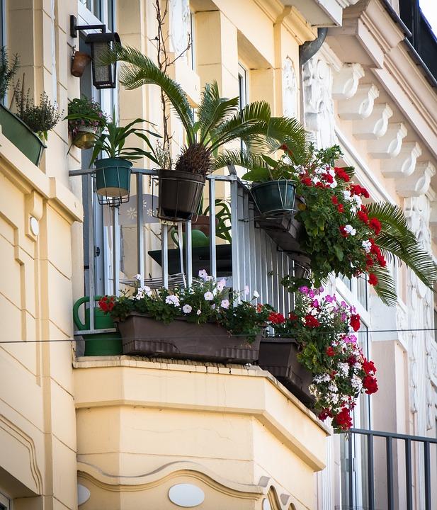 J'aménage un balcon qui ne s'arrose pas !