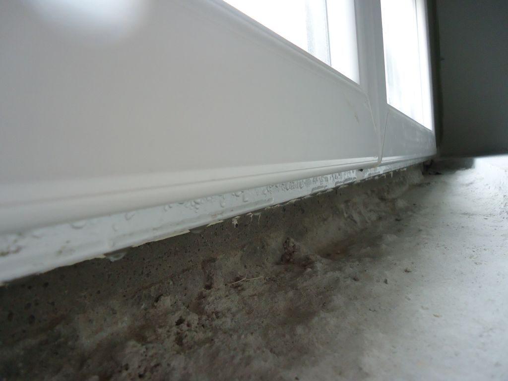 Condensation porte d'entrée en PVC: comment faire ?